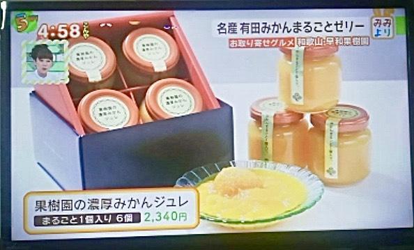早和果樹園のまるごとみかんゼリーのプレミアムBOX