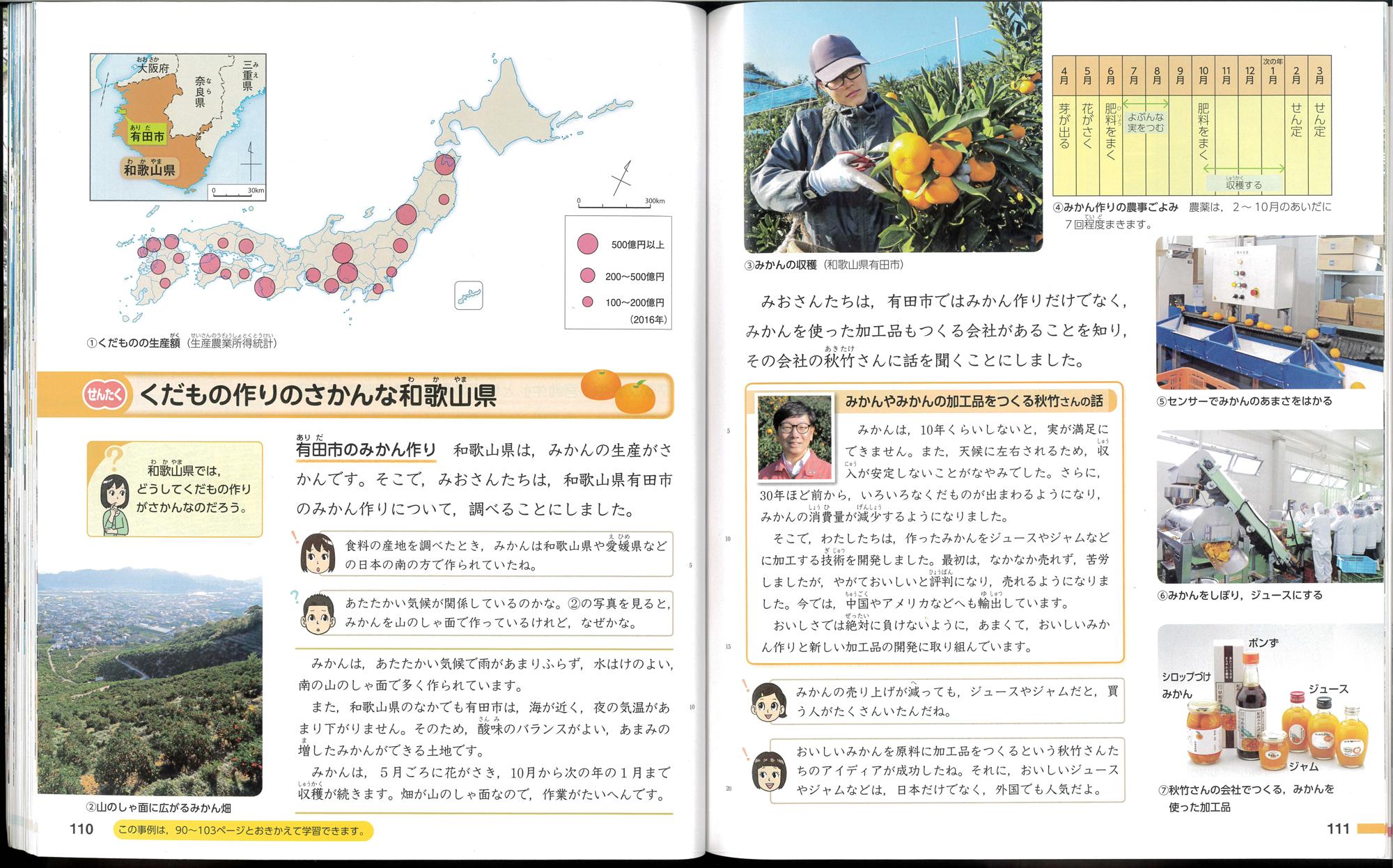 くだもの作りのさかんな和歌山県というページに早和果樹園が載っています