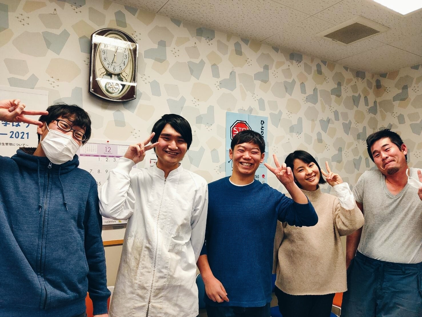 ANA関西空港株式会社様出向最終日に記念撮影📷